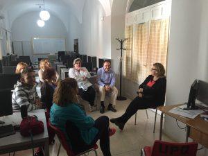Varios usuarios en el PAT de Quintana de la Serena