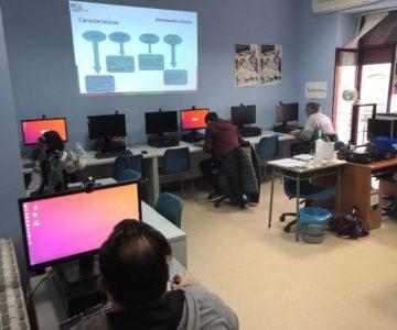 Competencias digitales básicas en Almendralejo
